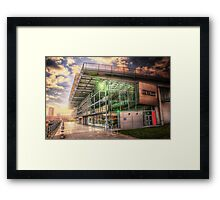 HDR National Glass Centre Framed Print