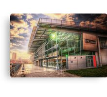 HDR National Glass Centre Canvas Print