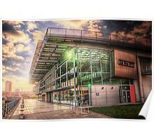 HDR National Glass Centre Poster