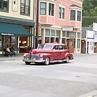 Classic American Car parked in Skagway street, Alaska. by brians101
