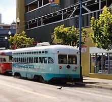 San Francisco: Street Cars by Kasia-D