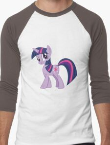 Twilight Sparkle Men's Baseball ¾ T-Shirt