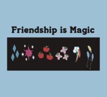 Friendship is magic by Merwok