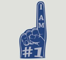 I am #1 Tee (Blue) by chief9928