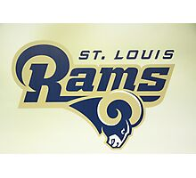 St Louis Rams Photographic Print