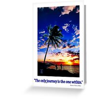 Sunrise from the Florida Keys Greeting Card