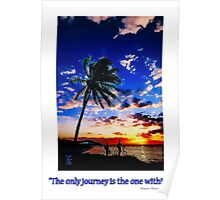 Sunrise from the Florida Keys Poster