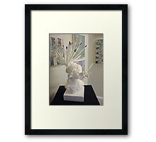 Another Boring Day. Framed Print