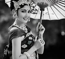 Balinese Dancer by Theo Widharto