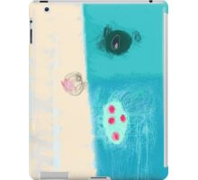 Take a blue breath iPad Case/Skin