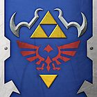 Zelda Hylian Shield (Ocarina of Time) by Ayax Alarcon