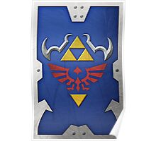 Zelda Hylian Shield (Ocarina of Time) Poster
