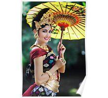 Balinese Woman Poster