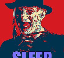 "Freddy Krueger ""SLEEP"" A Nightmare On Elm Street Parody  by miztayk"