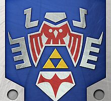 Zelda Hylian Shield (Majora's Mask) by Ayax Alarcon