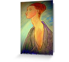 AnOther OReilly ORiginal Painting OXY Anna  Greeting Card