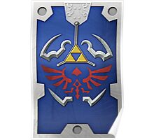 Zelda Hylian Shield (Twilight Princess) Poster