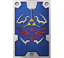 Zelda Hylian Shield (Twilight Princess) Photographic Print