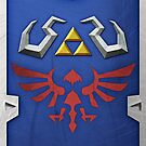Zelda Hylian Shield (Skyward Sword)  by Ayax Alarcon