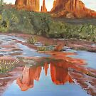 Red Rock Afternoon by Estelle O'Brien