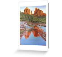 Red Rock Afternoon Greeting Card