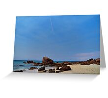 """""""Space Station Spotting"""", Cape Naturaliste, Western Australia Greeting Card"""