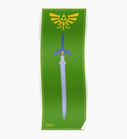 Zelda Master Sword Poster Poster