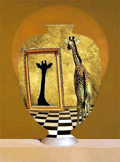 Giraffe In A Jar by SuddenJim