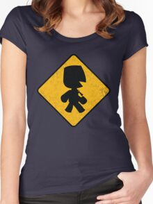 Sackboy Crossing Shirt Women's Fitted Scoop T-Shirt