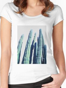 Cactus #redbubble #home #tech #style #buyart Women's Fitted Scoop T-Shirt