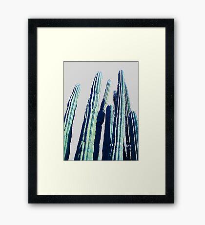 Cactus #redbubble #home #tech #style #buyart Framed Print