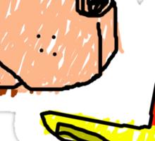 Bajo n Kazoop Sticker