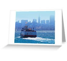 Harbor Queen Greeting Card