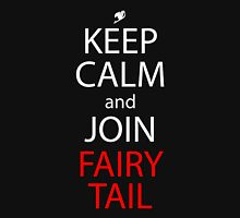 fairy tail keep calm and join fairy tail anime manga shirt T-Shirt