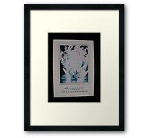 Raise the Moon Framed Print