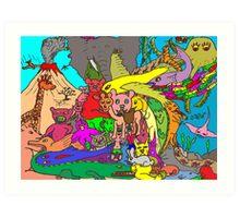 Species Extinction Art Print