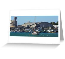 Portland Boats Greeting Card