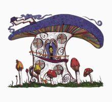 Mushroom House II One Piece - Short Sleeve