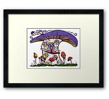 Mushroom House II Framed Print