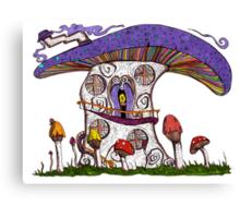 Mushroom House II Canvas Print