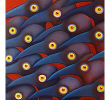 Blue Birds 1 Photographic Print
