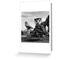 He doesn't love you like i do! Greeting Card