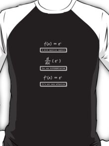 Not Very Effective Maths (Dark Shirt) T-Shirt