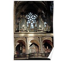 Magnificent Pipe Organ Poster