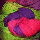 Bright Ball of Wool Knot by unstoppable