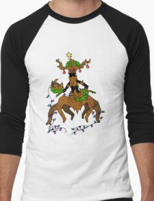 Pokemon Christmas Men's Baseball ¾ T-Shirt