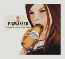 GTA Piswasser Beer T shirt by Creadius