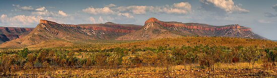 The Mighty Cockburn Ranges by Mieke Boynton