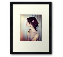 Wistfully... Framed Print