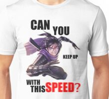CAN YOU KEEP UP WITH THIS SPEED? - Speed-o'-Sound Sonic Unisex T-Shirt